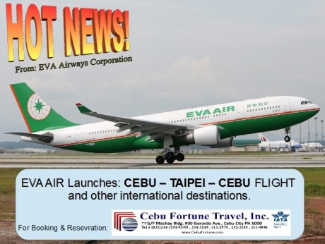 HOT NEWS from EVA AIR!